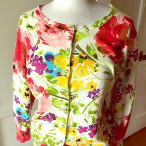 Charlotte Tarantola cotton Sweater sparkly buttons